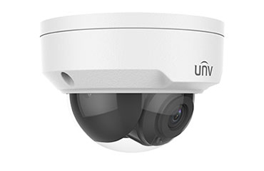 Uniview IPC325ER3-DUVPF28 5MP WDR LightHunter Vandal-resistant Network IR Fixed Dome Camera