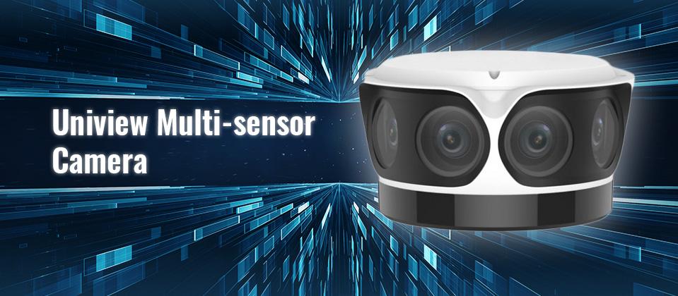 Uniview Multi-sensor camera banner