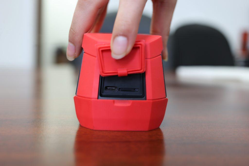 UNI2165-H thermal camera top view