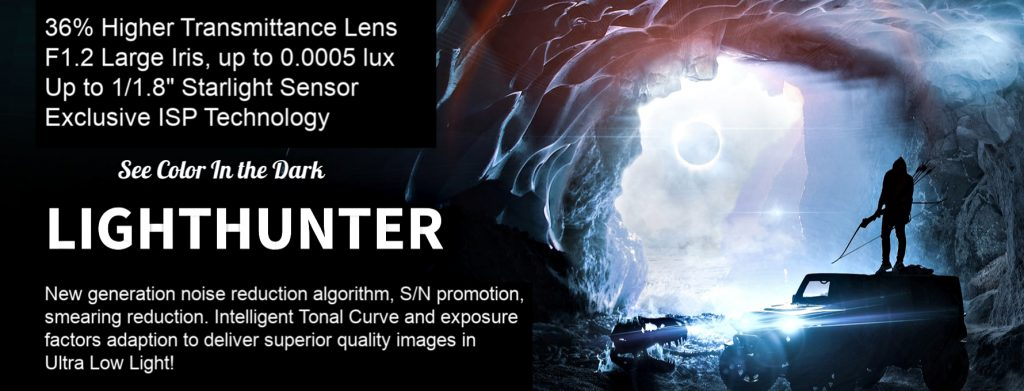 Uniview LightHunter Product Banner