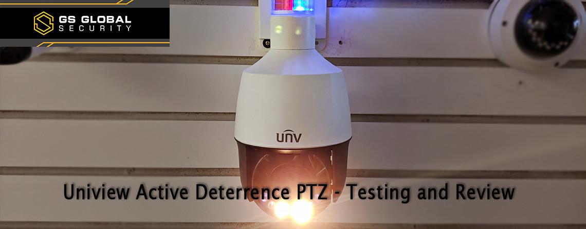 Uniview Active Deterrence PTZ IPC672LR-AX4DUPK Banner Image