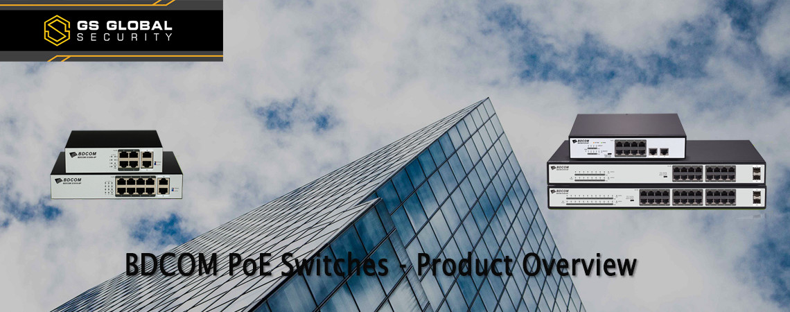 BDCOM POE Switches S1000 S1500 series banner